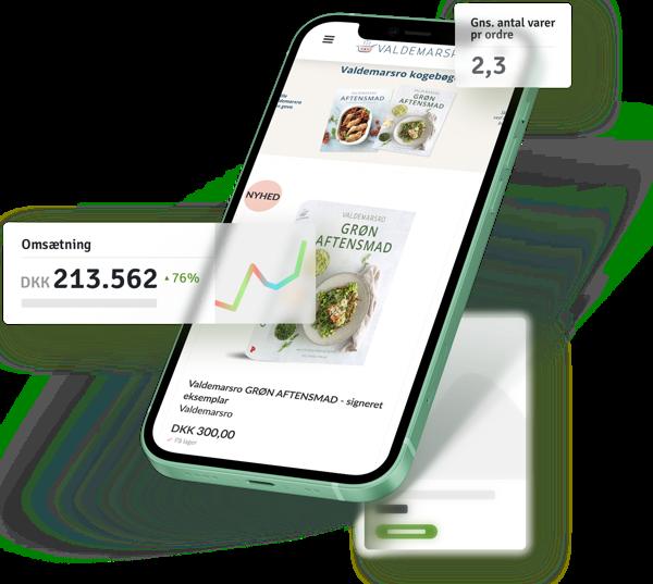 Start webshop ved Shoporama